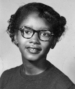 "Claudette Colvin: ""I could feel Harriet Tubman on one shoulder and Sojourner Truth on the other."""