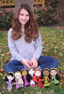 Ally Mollo, the creator of a doll empire.