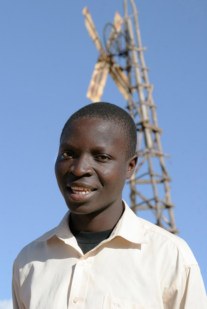 14 Year-Old William Kamkwamba Harnesses the Wind for Malawi