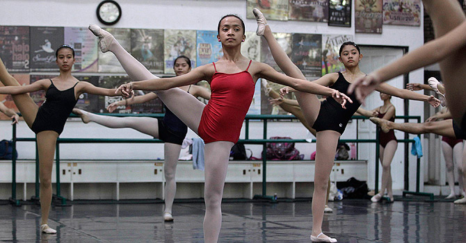 A real-life Cinderella: from garbage dump to dancing Swan Lake