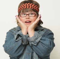 Down syndrome Doesn't Stop Her from Modeling