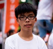 The Young Face of Hong Kong's Pro-Democracy Movement, Joshua Wong