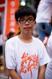 The Young Face of Hong Kong's Pro-Democracy Movement, Joshua Wong